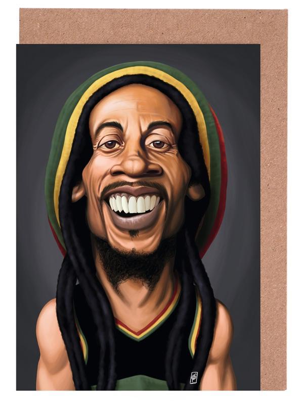 Bob Marley Greeting Card Set