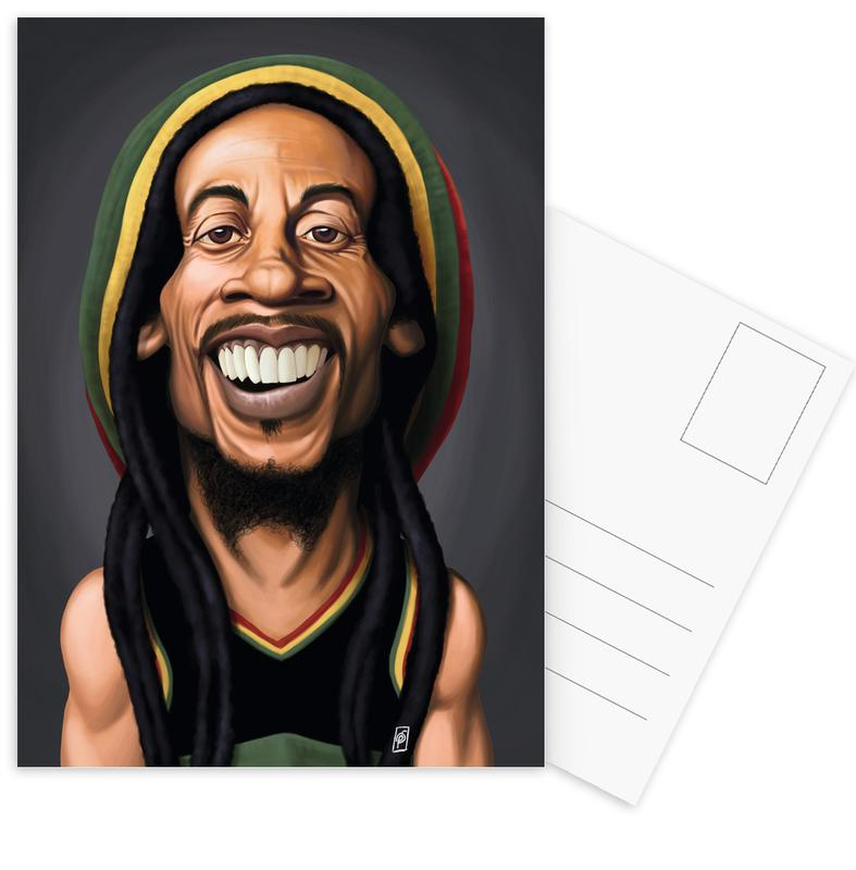 Bob Marley, Bob Marley ansichtkaartenset