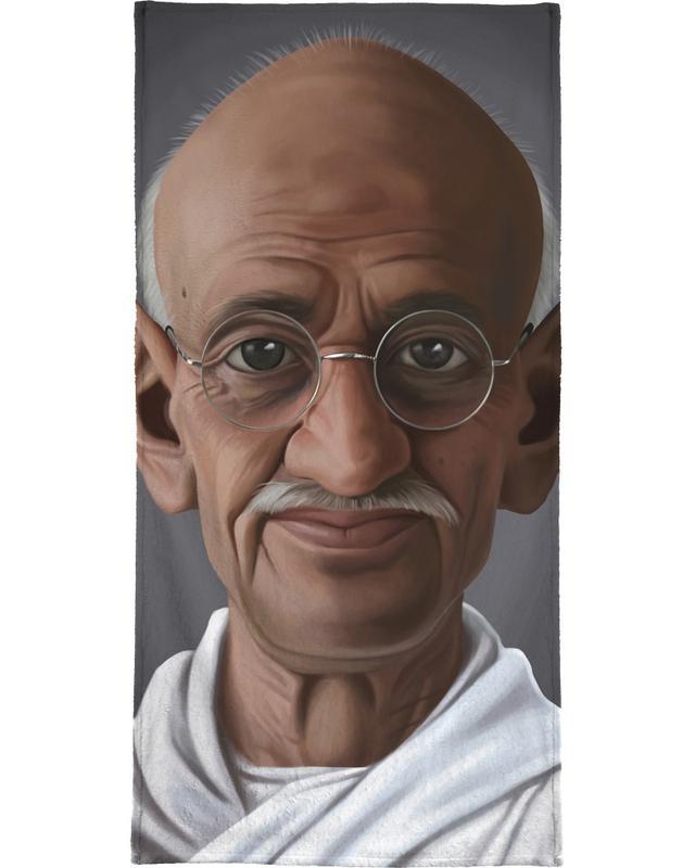 Personnages politiques, Mahatma Gandhi serviette de bain