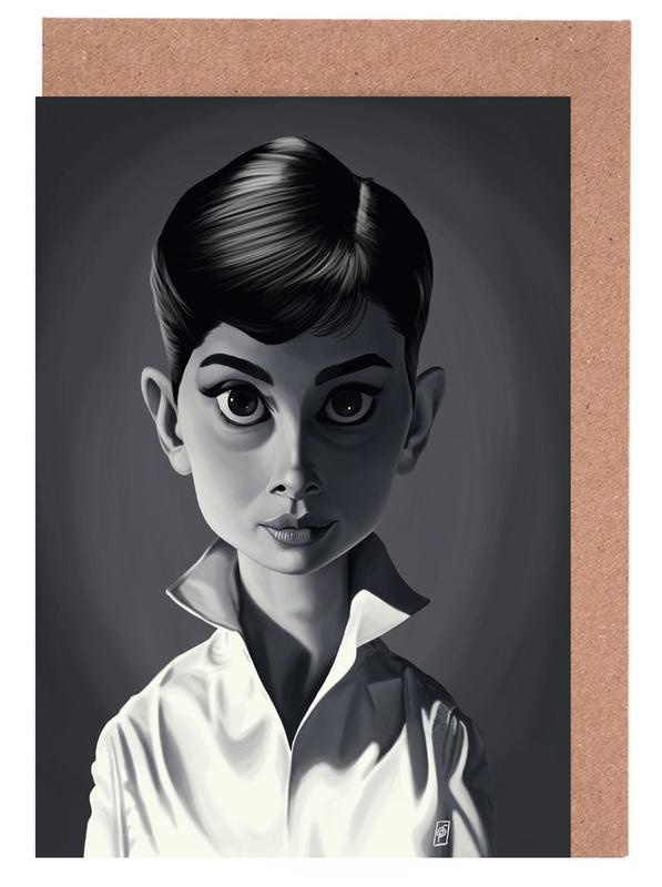 Audrey Hepburn Greeting Card Set