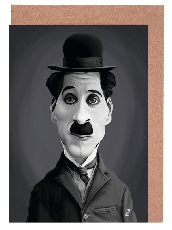 Charlie Chaplin cartes de vœux