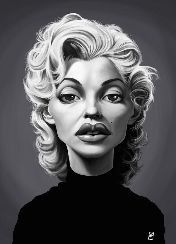 Marylin Monroe -Leinwandbild