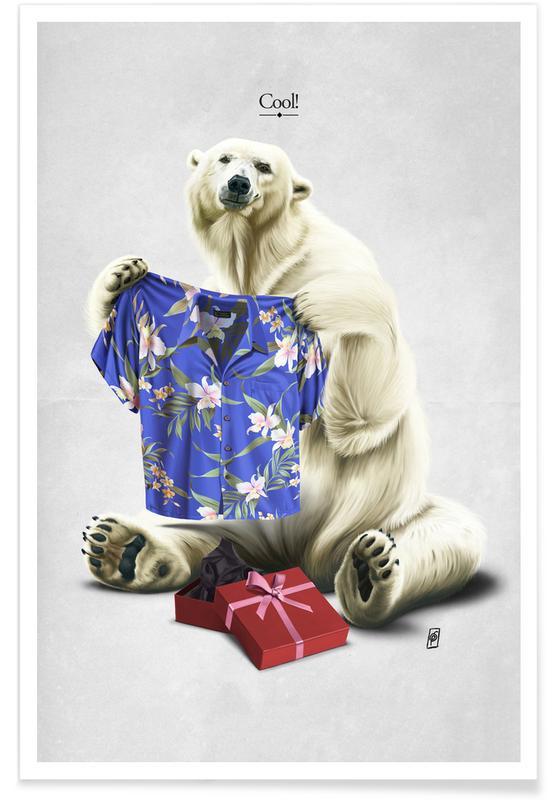 Björnar, Födelsedagar, Cool ! Poster
