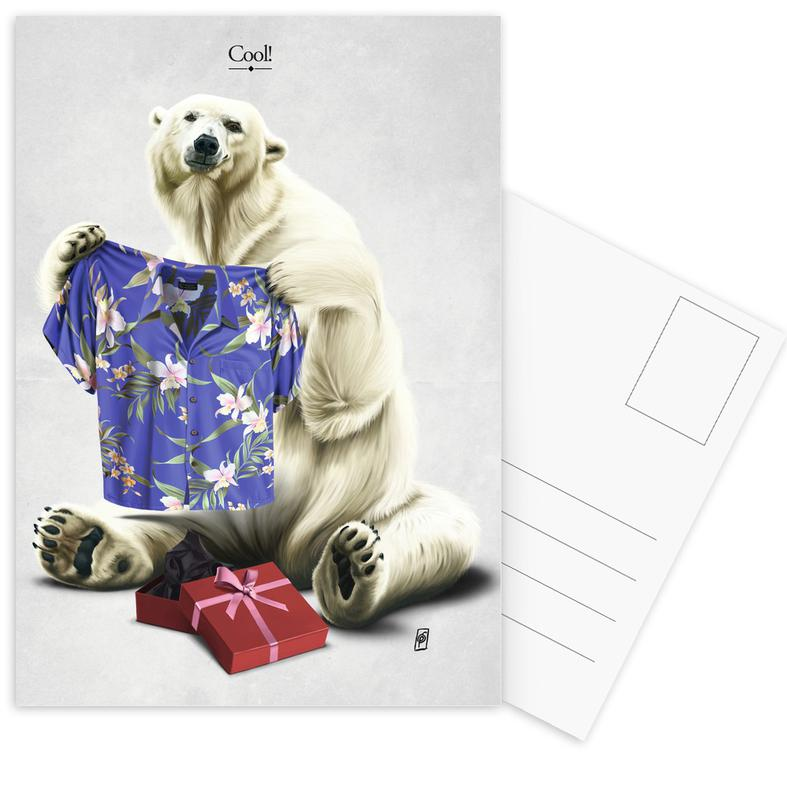 Ours, Anniversaires, Cool ! cartes postales