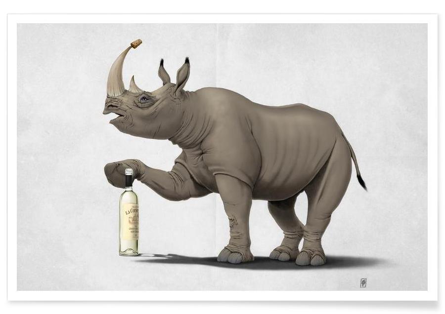 Rhinocéros, Cork it,Dürer! affiche