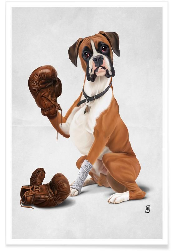 Dogs, The Boxer (Wordless) Poster