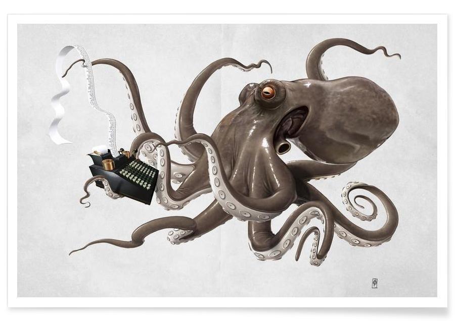 Blæksprutter, Count to ten Plakat