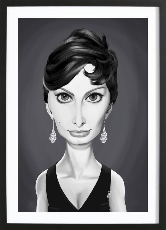 Sophia Loren Framed Print