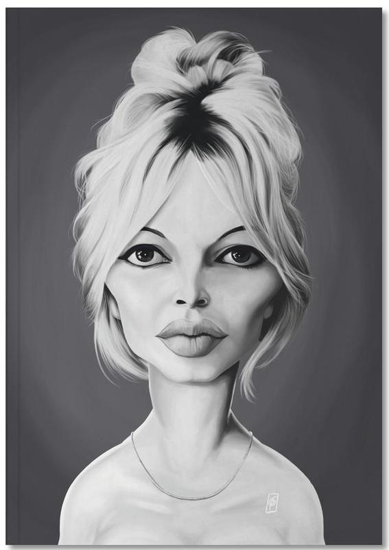 Brigitte Bardot Notebook
