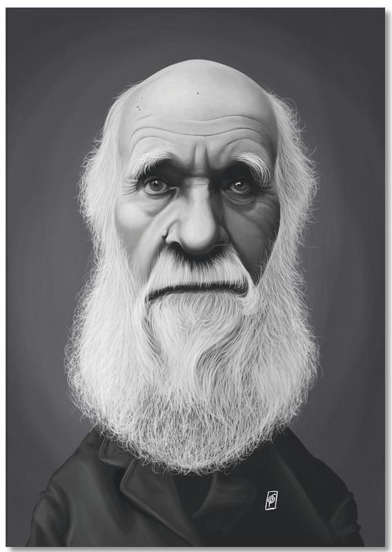 Charles Darwin Notepad