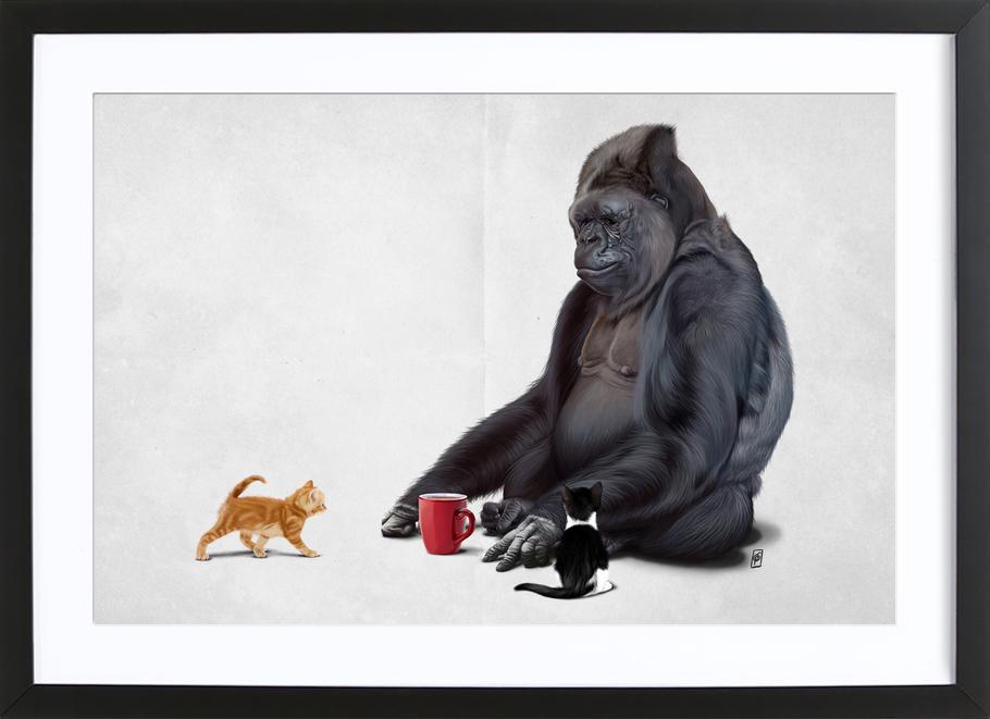 I Should Koko Framed Print