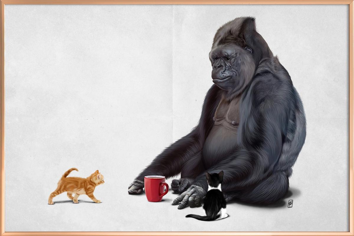 I Should Koko Poster in Aluminium Frame