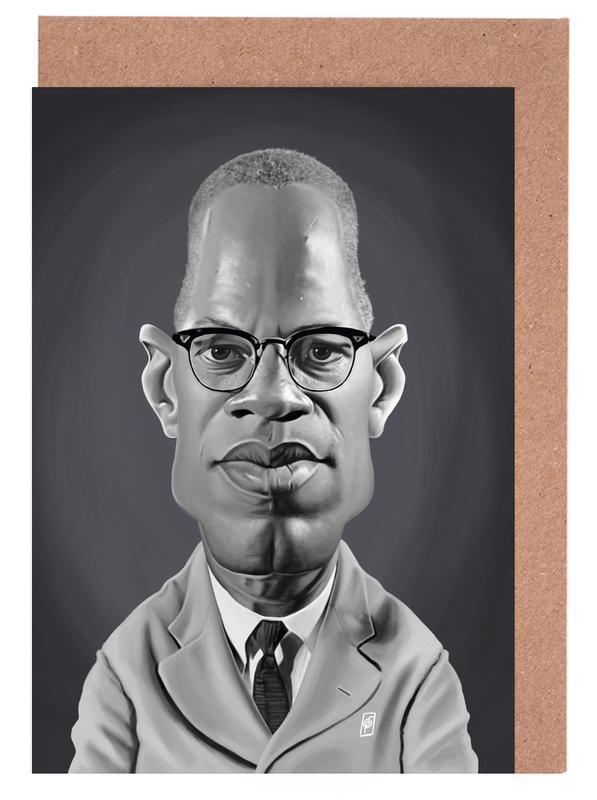 Malcolm X Greeting Card Set