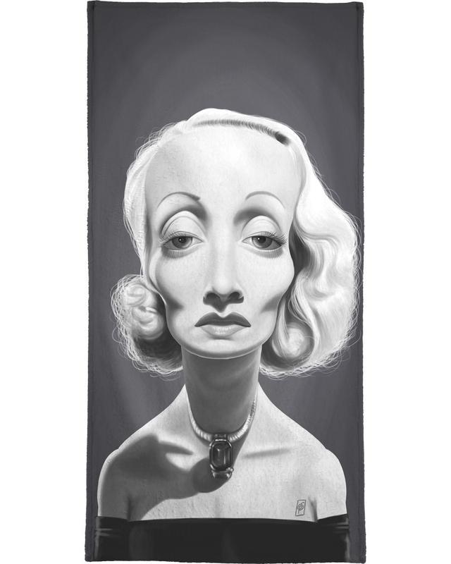 Marlene Dietrich -Handtuch