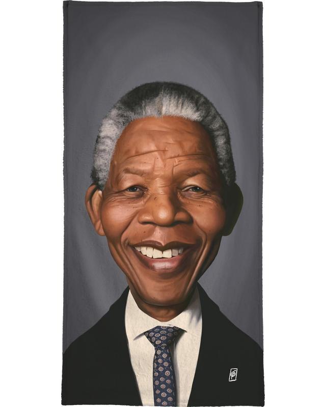 Personnages politiques, Nelson Mandela serviette de bain