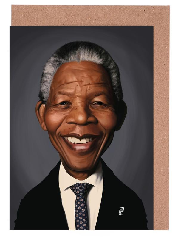 Nelson Mandela cartes de vœux