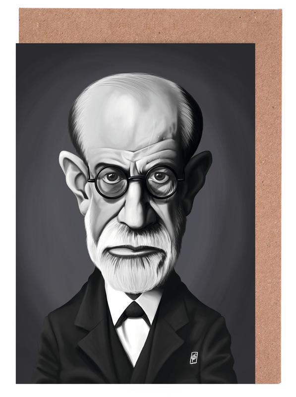 Schwarz & Weiß, Sigmund Freud -Grußkarten-Set