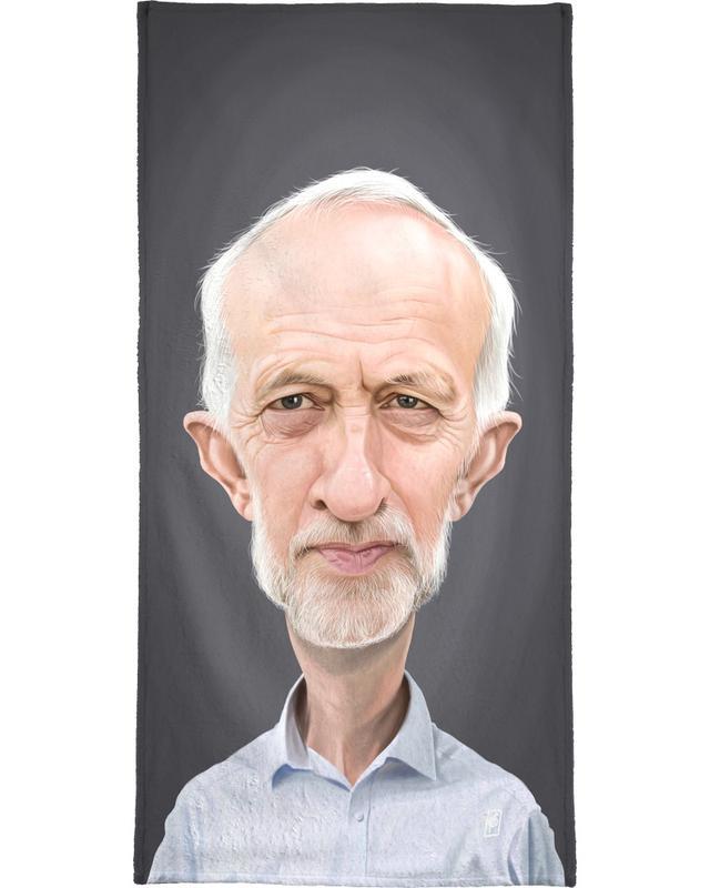 Personnages politiques, Jeremy Corbyn serviette de bain