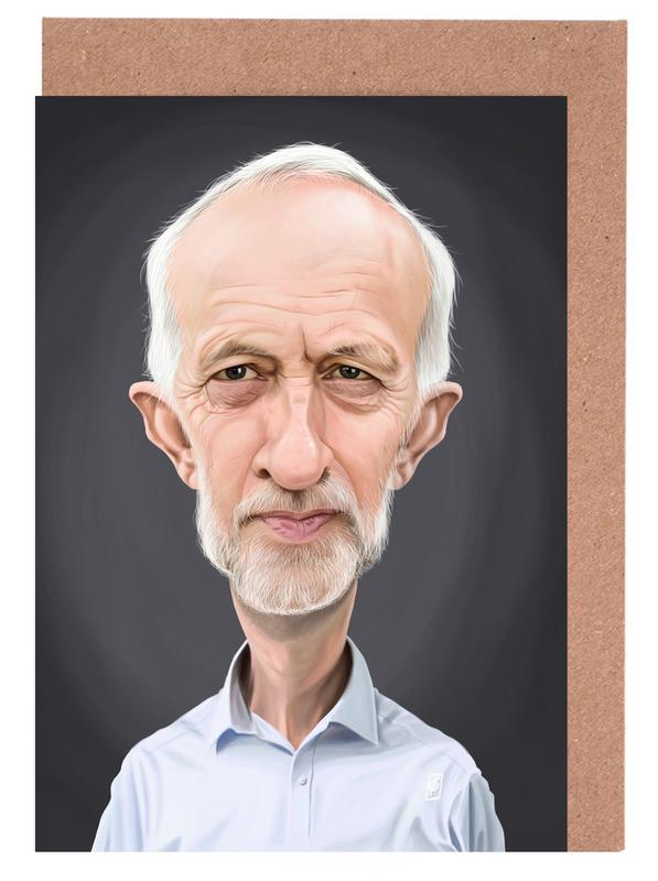 Jeremy Corbyn Greeting Card Set