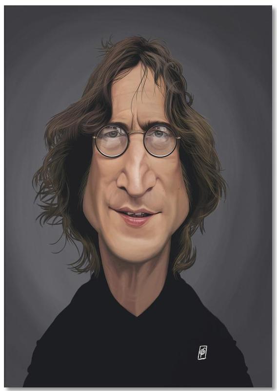 John Lennon Notepad