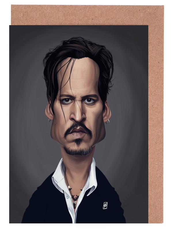 Johnny Depp Greeting Card Set