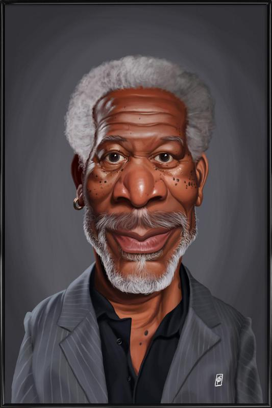 Morgan Freeman Framed Poster