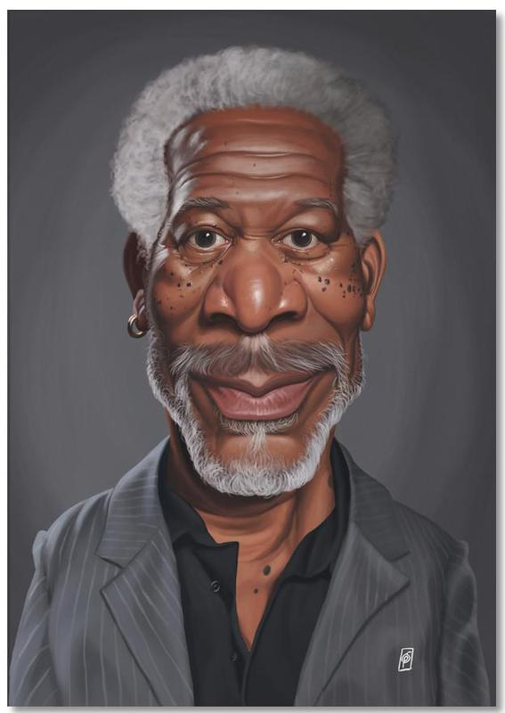 Morgan Freeman Notepad