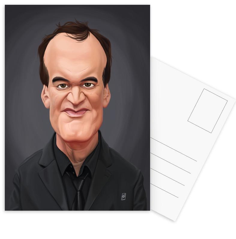 Zwart en wit, Quentin Tarantino ansichtkaartenset
