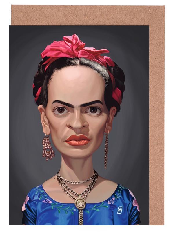 Frida Kahlo -Grußkarten-Set