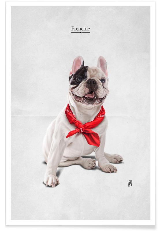 Dogs, Funny, Frenchie Poster