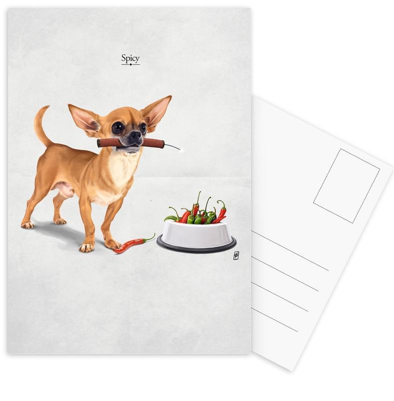 Spicy cartes postales