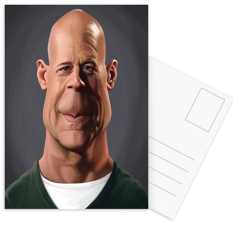 Bruce Willis -Postkartenset
