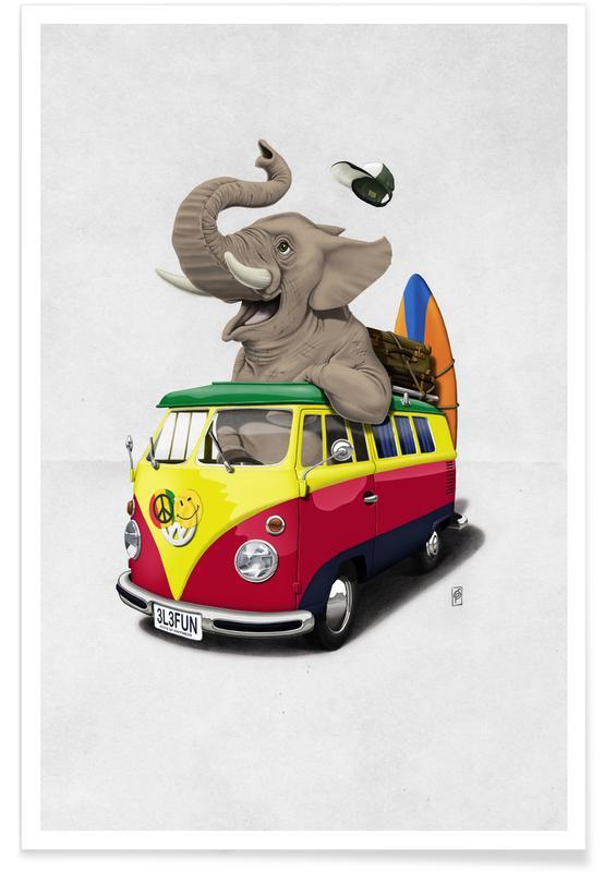 Éléphants, Pack the trunk affiche