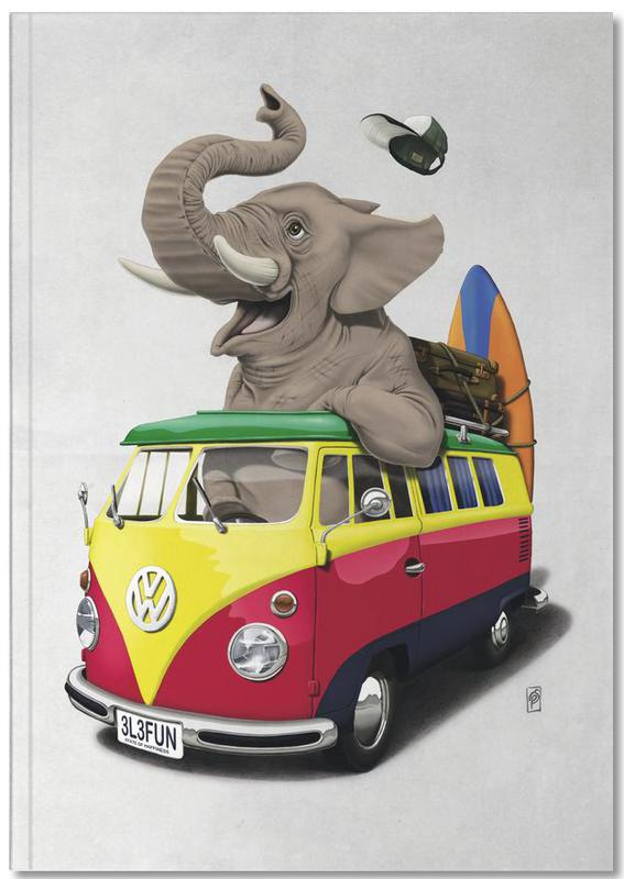 Olifanten, Pack the trunk Notebook