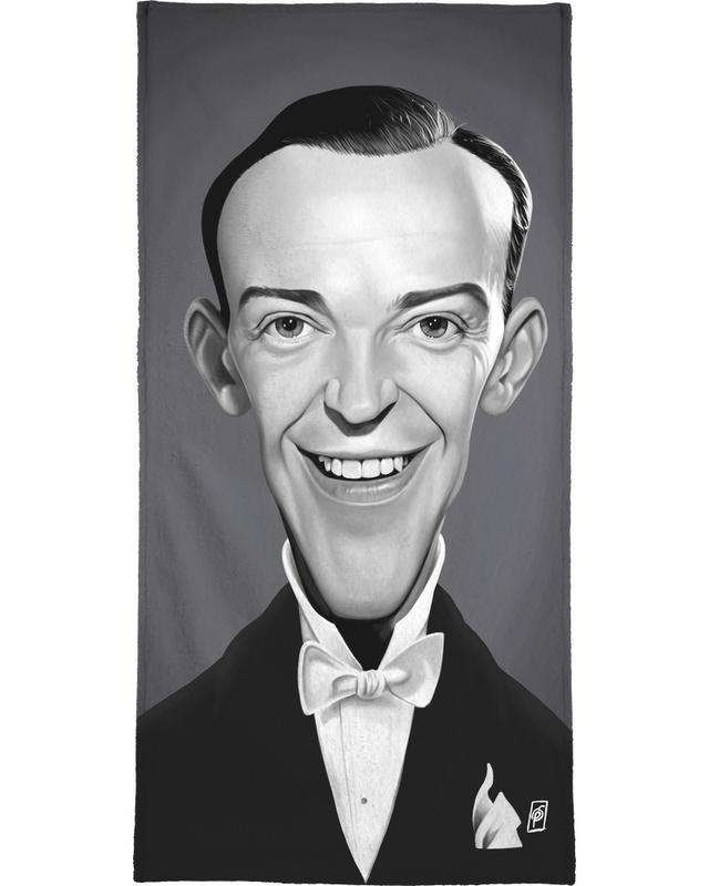 Fred Astaire Beach Towel
