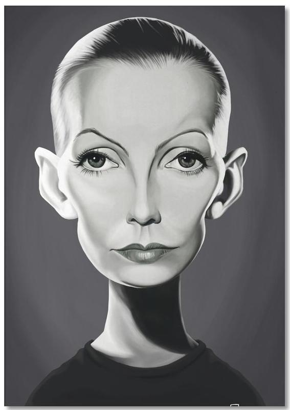 Greta Garbo Notepad