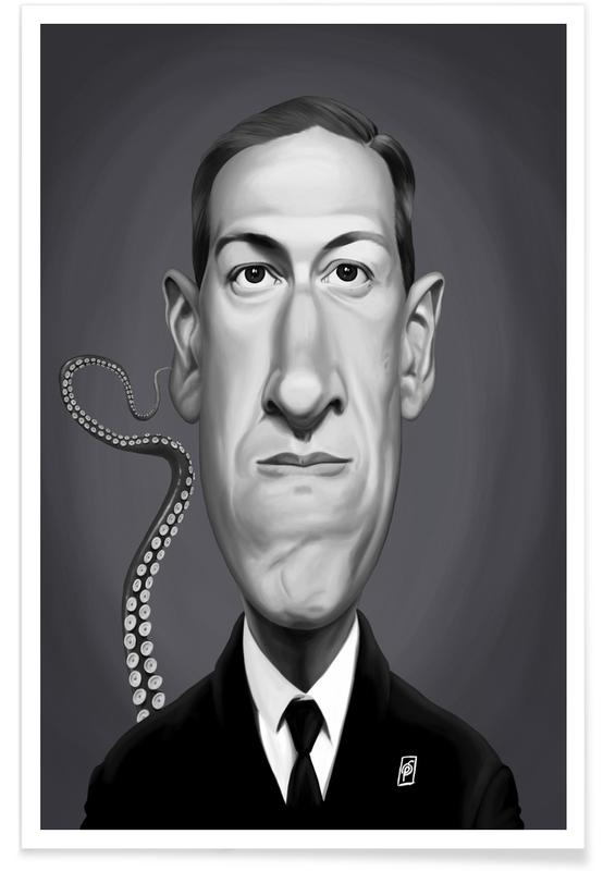 Lovecraft Caricature