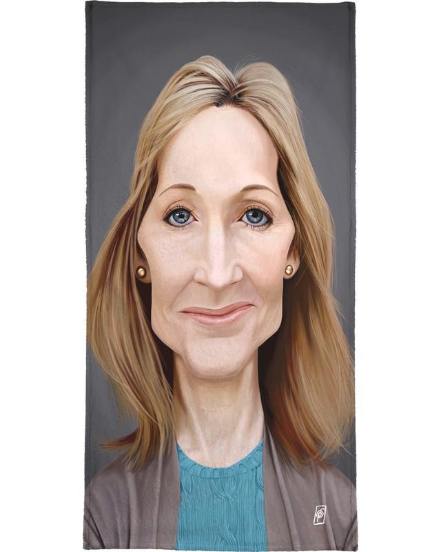 J.K. Rowling Beach Towel