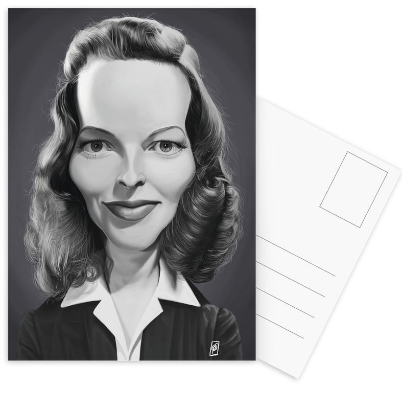 Katharine Hepburn -Postkartenset