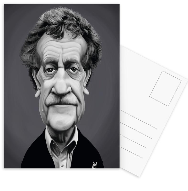Kurt Vonnegut Postcard Set
