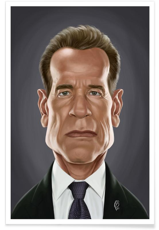 , Arnold Schwarzenegger Poster