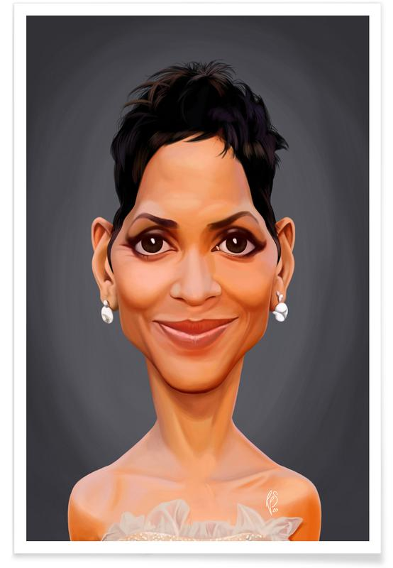 , Halle Berry Poster