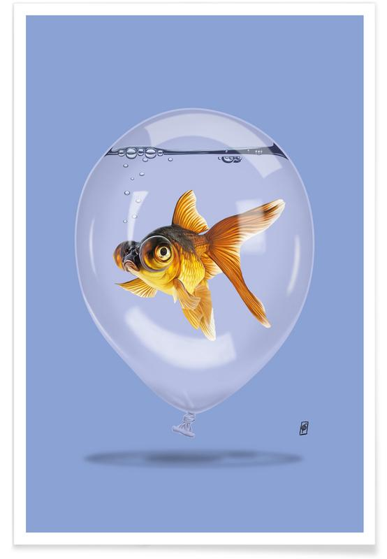 , Inflated poster