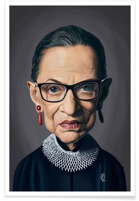 , Ruth Bader Ginsburg affiche