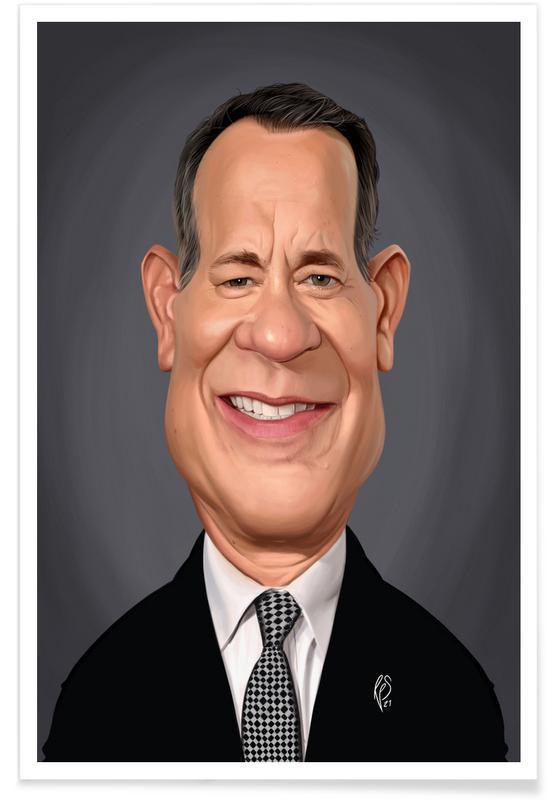 , Tom Hanks Poster