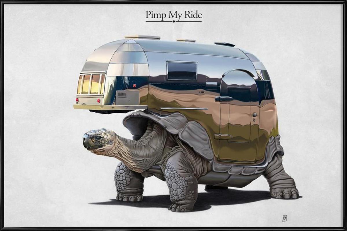 Pimp My Ride (titled) Framed Poster