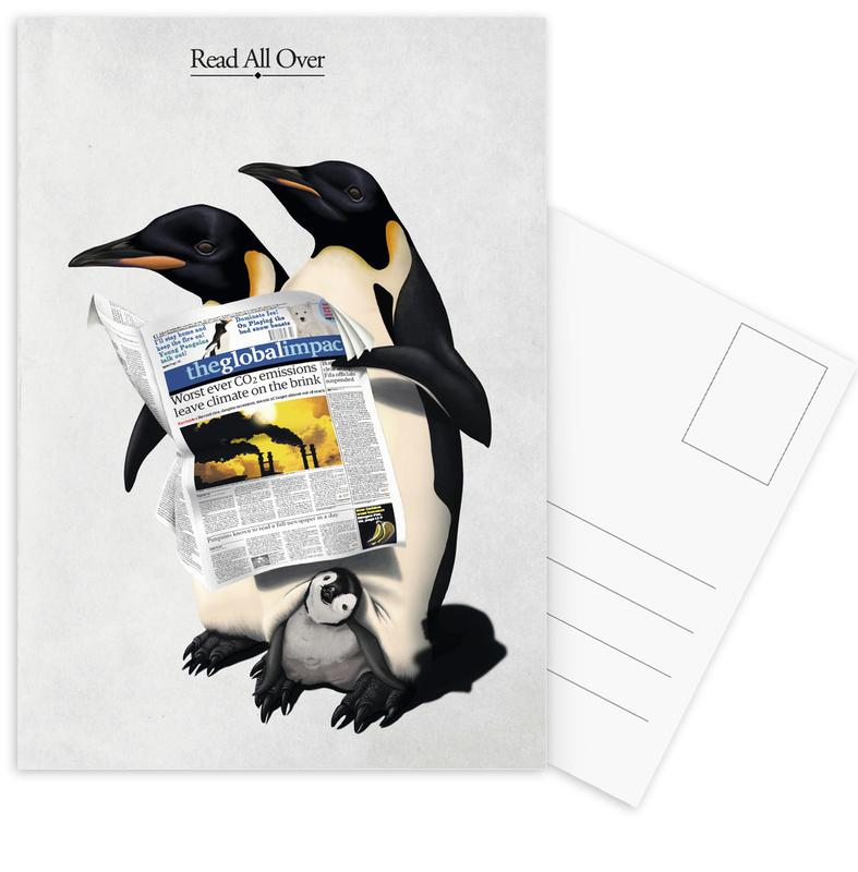 Read All Over (titled) -Postkartenset