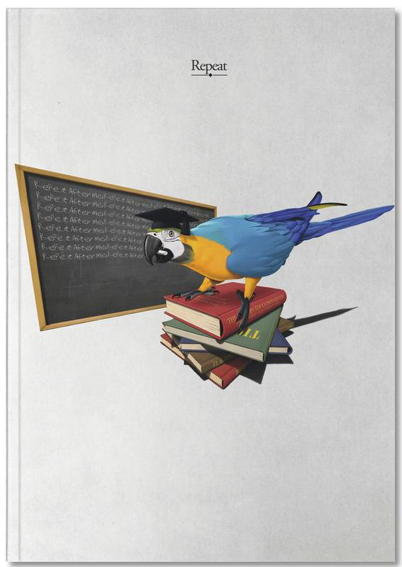 Parrots, Repeat (titled) Notebook