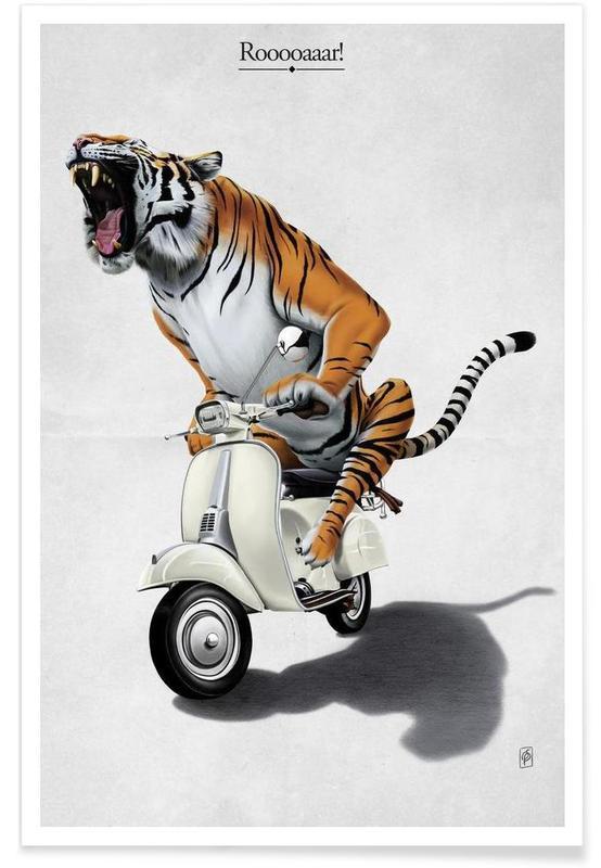 Tigres, Rooooaaar! (titled) affiche