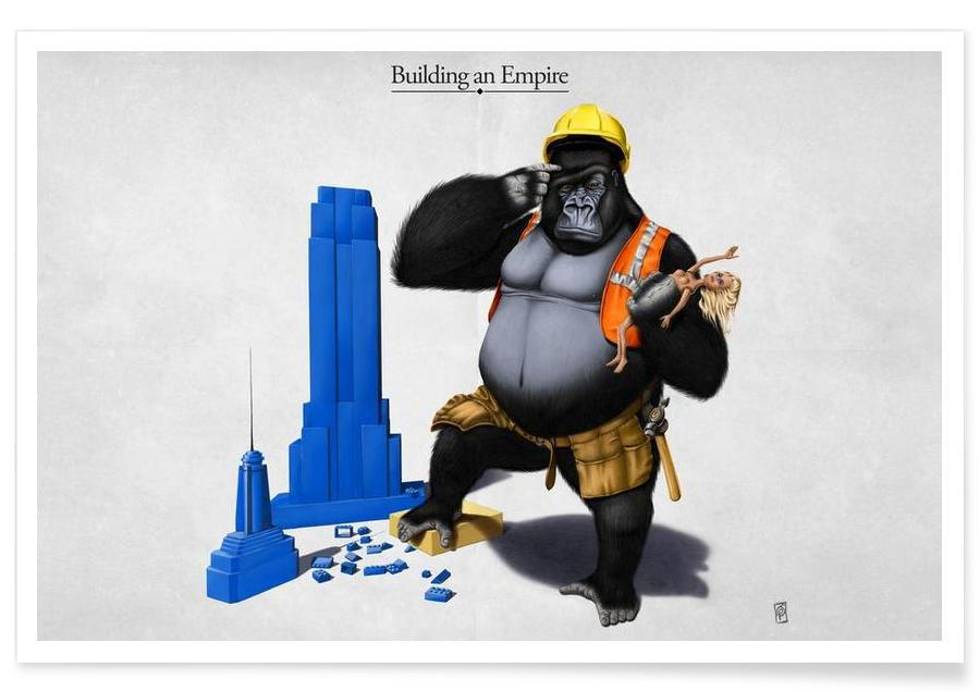 Building an empire (titled) affiche